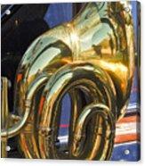 1910 Pope Hartford T Brass Horn Acrylic Print