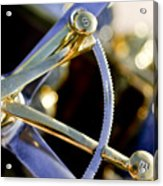 1910 Pope Hartford T Steering Wheel 2 Acrylic Print