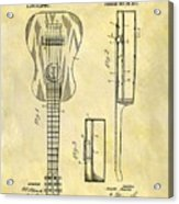 1911 Guitar Patent Acrylic Print