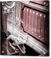 1912 Rolls-royce Silver Ghost Rothchild Et Fils Style Limousine Snake Horn -0711ac Acrylic Print