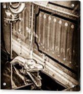 1912 Rolls-royce Silver Ghost Rothchild Et Fils Style Limousine Snake Horn -0711s Acrylic Print
