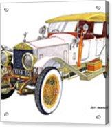 1914 Rolls Royce Silver Ghost Acrylic Print