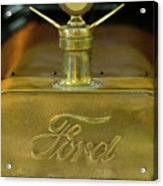 1915 Ford Depot Hack Hood Ornament 3 Acrylic Print