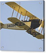 1917 Curtiss Jn-4d Jenny Flying Canvas Photo Poster Print Acrylic Print