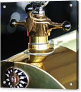 1917 Owen Magnetic M-25 Hood Ornament Acrylic Print