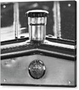 1917 Winton Six-33 Sport Touring Hood Ornament 2 Acrylic Print