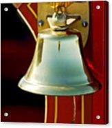 1919 Fire Truck Bell Acrylic Print