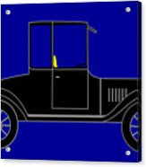 1919 Ford High Body Model T Coupe Acrylic Print