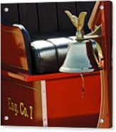 1919 Volunteer Fire Truck Eng. Co. 7 Acrylic Print