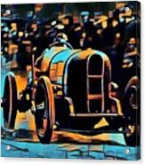 1920's Racing Car Acrylic Print
