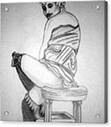 1920s Women Series 10 Acrylic Print