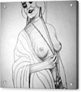 1920s Women Series 13 Acrylic Print