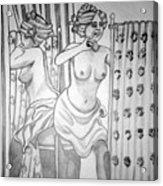 1920s Women Series 6 Acrylic Print