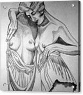 1920s Women Series 8 Acrylic Print