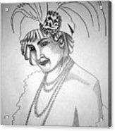 1920s Women Series 9 Acrylic Print