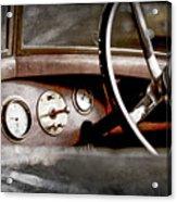1921 Bentley Steering Wheel -0454ac Acrylic Print
