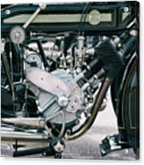 1921 P And M Motorcycle Acrylic Print