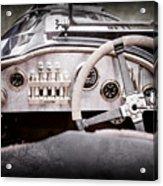1925 Aston Martin 16 Valve Twin Cam Grand Prix Steering Wheel -0790ac Acrylic Print