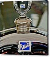 1926 Buick Boyce Motometer Acrylic Print