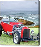 1927 Ford T Bucket Roadster 'on The Greens' Acrylic Print