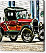 1927 Model T Ford Roadster Acrylic Print