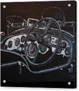 1928 Bentley Dash Acrylic Print