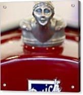 1928 Buick Custom Speedster Hood Ornament 2 Acrylic Print