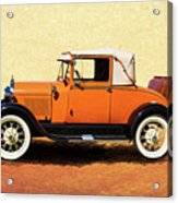 1928 Classic Ford Model A Roadster Acrylic Print