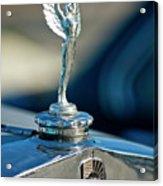 1928 Nash Coupe Hood Ornament Acrylic Print