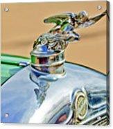 1928 Studebaker Hood Ornament Acrylic Print