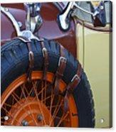 1928 Studebaker President Roadster Spare Tire Acrylic Print