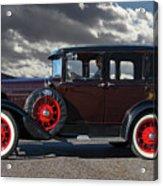 Classic 4 Door Ford Acrylic Print