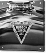 1929 Hudson Cabriolet Hood Ornament 2 Acrylic Print