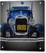 1929 Model A Ford Convertible Acrylic Print