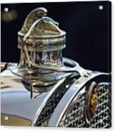 1929 Packard 8 Hood Ornament 3 Acrylic Print
