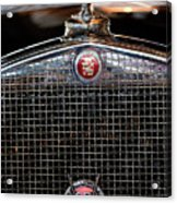 1930 Cadillac Roadster Hood Ornament 3 Acrylic Print