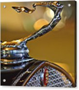 1930 Cadillac Roadster Hood Ornament Acrylic Print