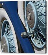 1930 Db Dodge Spare Tire Acrylic Print