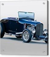 1930 Ford 'blu Mood' Roadster Acrylic Print