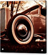 1930 Ford Model A Acrylic Print by Phil 'motography' Clark