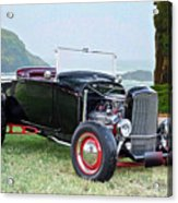 1930 Ford Model A Roadster 'oceanside' Acrylic Print