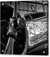 1930s Lockheed Electra Aircraft Acrylic Print