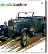 1931 Chevrolet Antique Roadster Acrylic Print