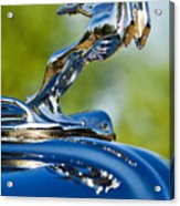 1931 Chrysler Cn Roadster Hood Ornament 2 Acrylic Print