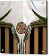 1931 Chrysler Coupe Grille Emblem Acrylic Print