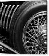 1931 Duesenberg Model J Spare Tire 2 Acrylic Print