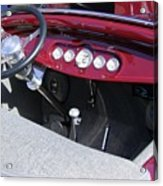 1931 Ford Dashboard Acrylic Print