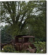 1931 Ford Model A Final Resting Place Acrylic Print