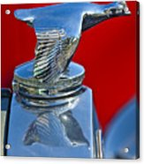 1931 Ford Model A Quail Hood Ornament Acrylic Print