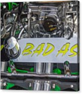 1931 Ford Roadster Motor Acrylic Print